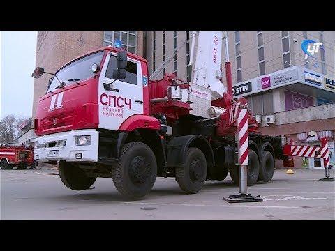 В Торговом доме «Русь» прошли крупные пожарные учения