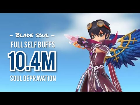 Soul Depravity Test with F2P Gears - Blade Soul (Crit/CRS type)