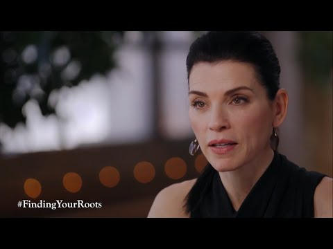 """Finding Your Roots - Julianna Margulies preview (ep.9 """"The Long Way Home"""")"""