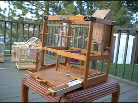 Custom Built Bird Cages - Towa Towa / Canaries / Finches / Small Birds