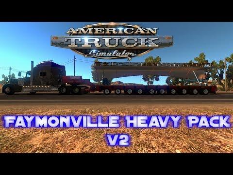 Faymonville Heavy Pack v2 for ATS 1.6