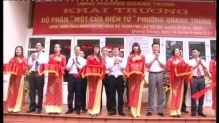 Giới thiệu Trung tâm hành chính công thành phố Uông Bí