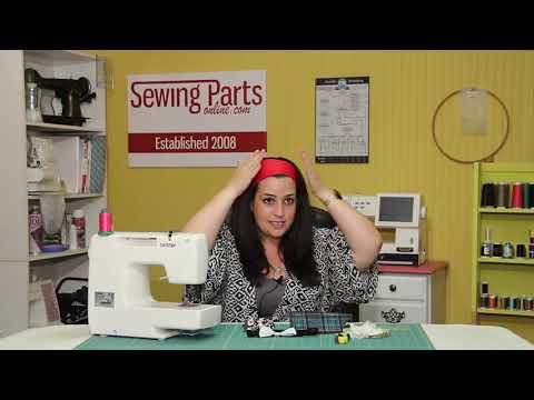 Beginners Guide to Sewing (Episode 8): Scrunchie and Headband Tutorial (Fan Request)