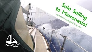 Solo sailing my little Cape Dory 30 sailboat 2000 miles from Honolulu, Hawaii to Majuro on the Marshall Islands. Be sure to