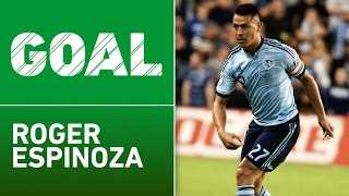GOLAZO: Roger Espinoza rifles one home from distance by Major League Soccer