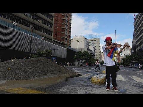 Τραυματίστηκε ο βιολονίστας-διαδηλωτής στο Καράκας
