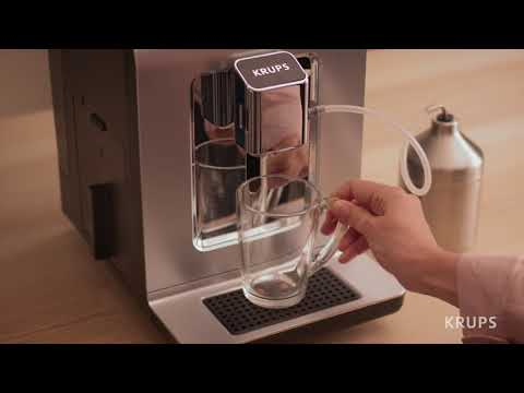 KRUPS Evidence: How to make a Cappuccino