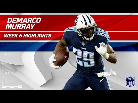 Video: DeMarco Murray Helps Lead Tennessee to Victory! | Colts vs. Titans | Wk 6 Player Highlights
