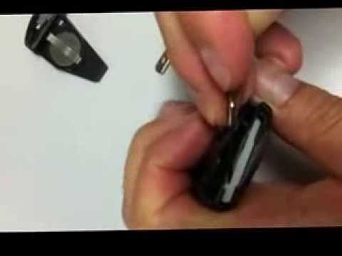 How to change Mercedes key shell