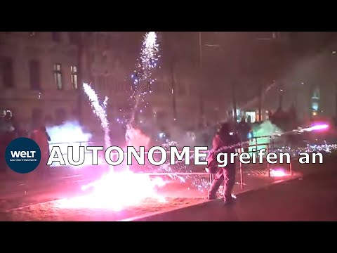 Leipzig: Indymedia-Demo in Connewitz eskaliert