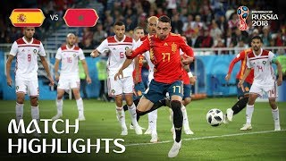 Video Spain v Morocco - 2018 FIFA World Cup Russia™ - Match 36 MP3, 3GP, MP4, WEBM, AVI, FLV September 2018