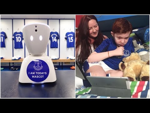 Video: WORLD'S FIRST VIRTUAL MATCHDAY MASCOT