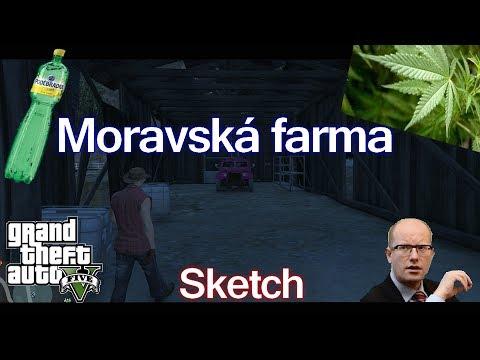 Skype - [S-M] GTA V Sketch - Moravská farma [CZ/HD]