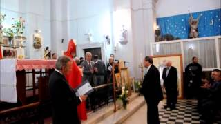 Θεία Λειτουργία γιορτής Αγίου Γεωργίου στον Κορμακίτη 23-4-2015