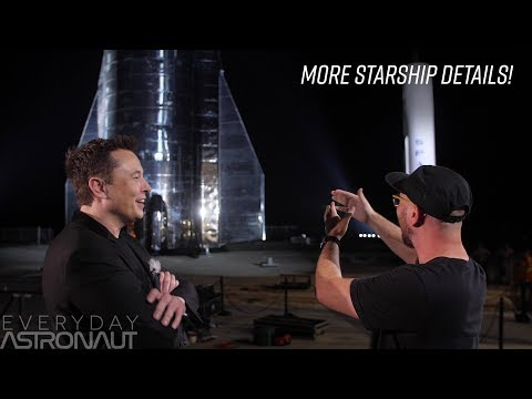 A conversation with Elon Musk about Starship