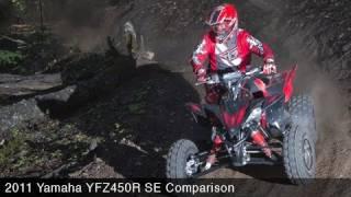 5. MotoUSA Comparo:  2011 Yamaha YFZ450R SE