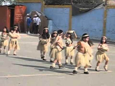 DANZAS SELVATICAS - Mi BB Alison y sus compañeros del 1ro. F del Colegio Leonard Euler de Chorrillos, con motivo del aniversario del colegio, presentaron un baile típico de la s...