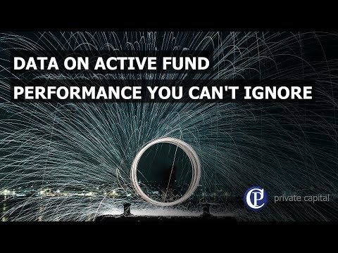 Data on active fund performance you can't ignore