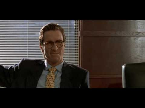 American Psycho -Business Card Scene