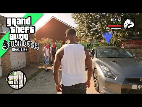 GTA San Andreas REAL LIFE 2 (видео)