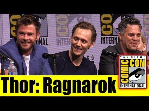 Thor Ragnarock Comic Con 2017 Panel