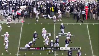 Christian Hackenberg vs Temple (2014)