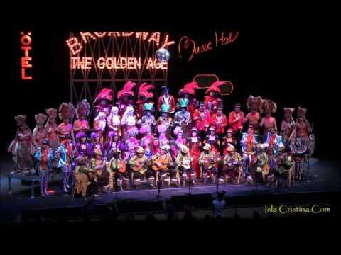 """Coro """"Broadway"""".Semifinales Concurso de Agrupaciones Carnaval de Isla Cristina"""