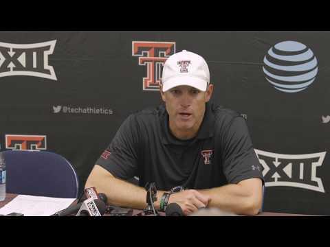 Texas Tech Football vs. Arizona: Press Conference | 2019