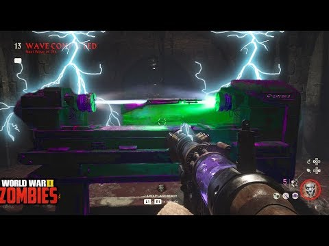 WW2 ZOMBIES - DOUBLE PACK A PUNCH EASTER EGG HUNT!!! (Call of Duty WW2 Zombies)