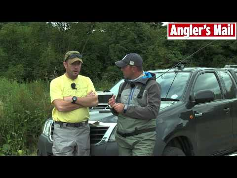River Wye fishing tips with Steve Collett & guide Adam Fisher (video)