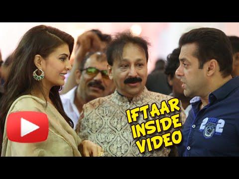 Salman, Jacqueline, Varun Dhawan At Baba Siddiqui