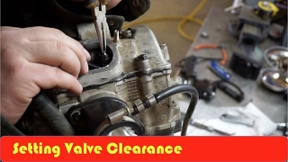 6. ATV How to Set Valve Clearance