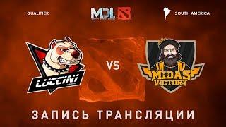 Luccini vs Midas Club Victory, MDL SA, game 1 [Mila]