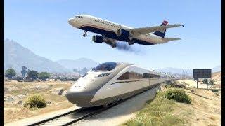 GTA 5- Airplane Worst & Stunning Emergency Landing Ep #5 -Epic Compilation