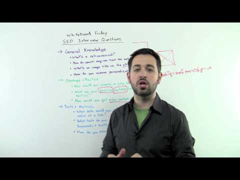 SEO Interview Questions – Whiteboard Friday Moz