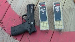 6. M&P22 .22LR Compact Pistol-Initial Impressions