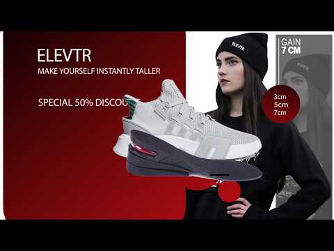 Elevtr.™ Height Insoles - MAKE YOURSELF INSTANTLY TALLER