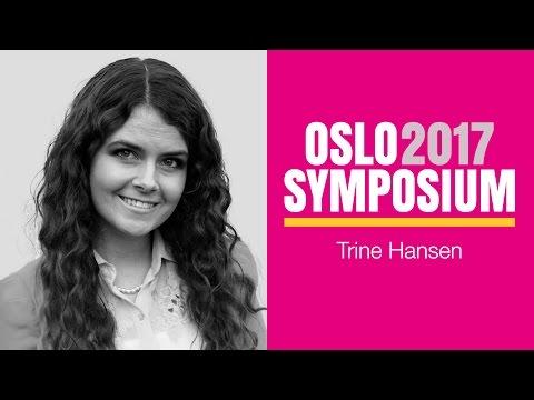Trine Overå Hansens tale på Oslo Symposium 2017