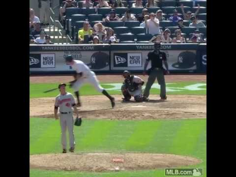 Aaron Judge 495 ft home run! 20th Home Run of season! LONGEST HOME RUN 2017!!