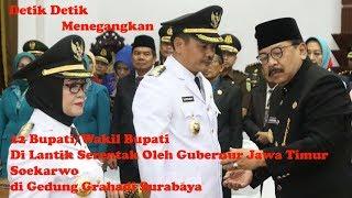 Download Video Detik Menegangkan Gubernur Jawa Timur Melantik 12 Bupati & Walikota Pemenang Pilkada MP3 3GP MP4