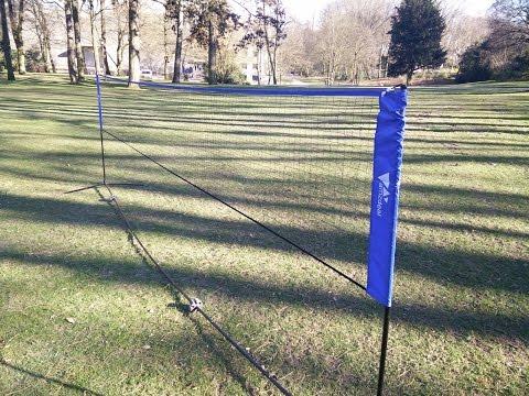 Mobiles Badmintonnetz von AMZDEAL