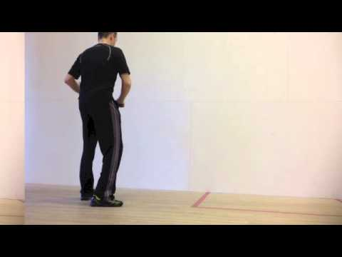 Squash Shots Tips Return of Serve: How to Cope with Fast Serve Squash Training Squash Tips