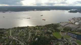Skien Norway  city pictures gallery : Drone | Norway | Porsgrunn | Skien | Valøya - Vikna