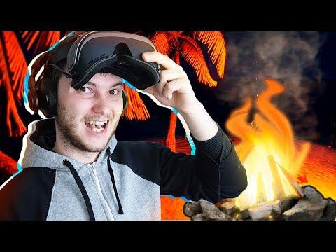 КАК ВЫЖИТЬ НА НЕОБИТАЕМОМ ОСТРОВЕ В ВР - Lost In Ocean VR  -  Windows Mixed Reality