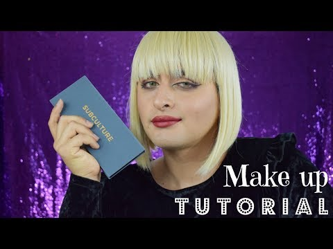 ABH Subculture Palette   Make Up Tutorial   Amb3r's Multiv3rse