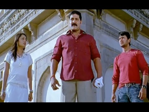 Badradri Full Movie Scenes - Nikitha realising all the truths told by Srihari- Nikitha  Raja 26 July 2014 07 PM