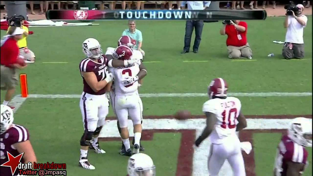 Vinnie Sunseri vs Texas A&M (2013)