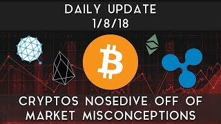 Daily Update (1/8/2018) | Cryptos nosedive due to market misconceptions