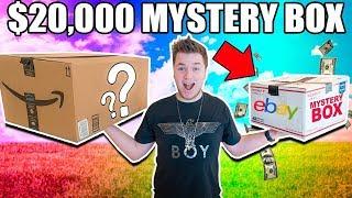 Video $10 VS $20,000 EBAY MYSTERY BOX CHALLENGE!! 📦⁉️ Cash, Poo Toys & More MP3, 3GP, MP4, WEBM, AVI, FLV Januari 2018