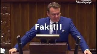 Poseł Tarczyński potrzebuje pomocy lekarskiej.